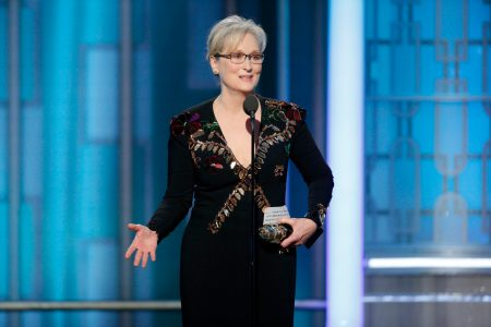 Meryl Streep Shaded Donald Trump At the Golden...